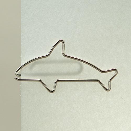"""D-Clip Stahlbüroklammer """"Delfin"""" (30 St.)"""