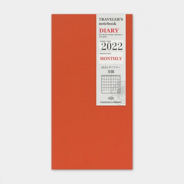 Traveler's Notebook 2022 Regular Monatskalender