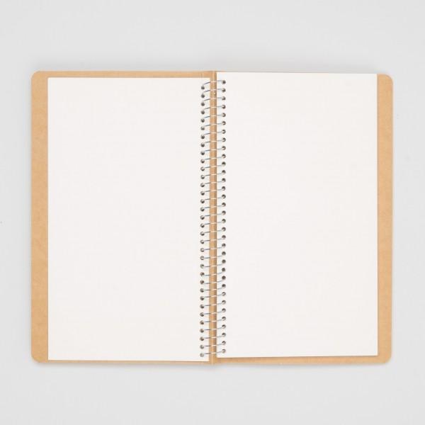 Midori Spiralringbuch Swan A5 Slim