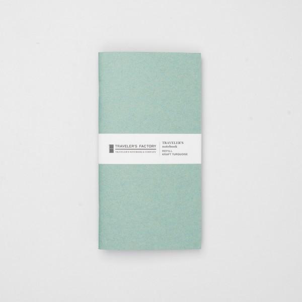 STORE ONLY: Traveler's Factory Einlage Regular Kraftpapier grün