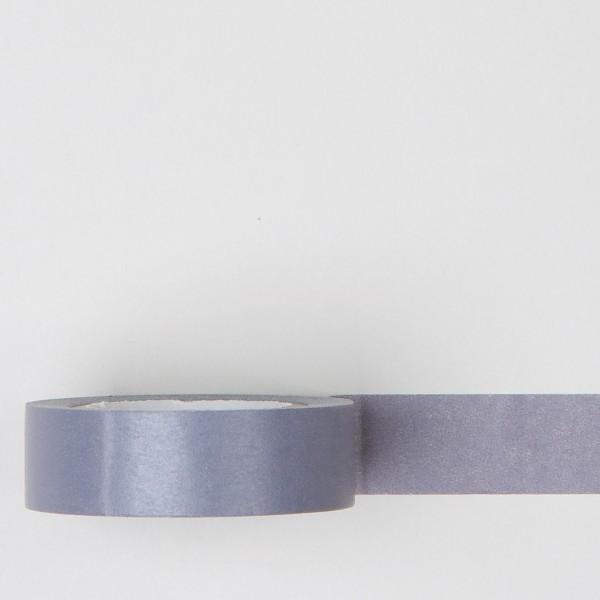 "Masking Tape einfarbig ""haimurasaki"" grauviolett"