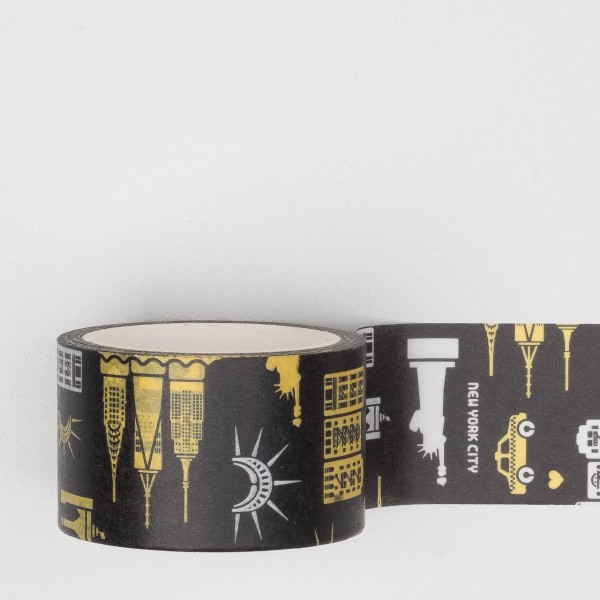 Paperways Masking Tape NYC Pattern