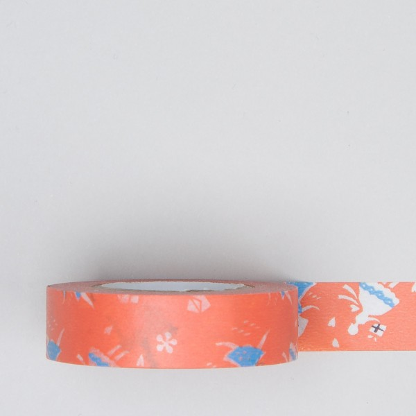 "Masking Tape ""Liebesbriefe"" orange"