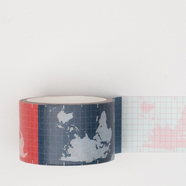 Paperways Masking Tape World Map
