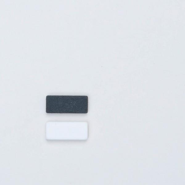Palomino Blackwing Ersatzradierer schwarz weiß