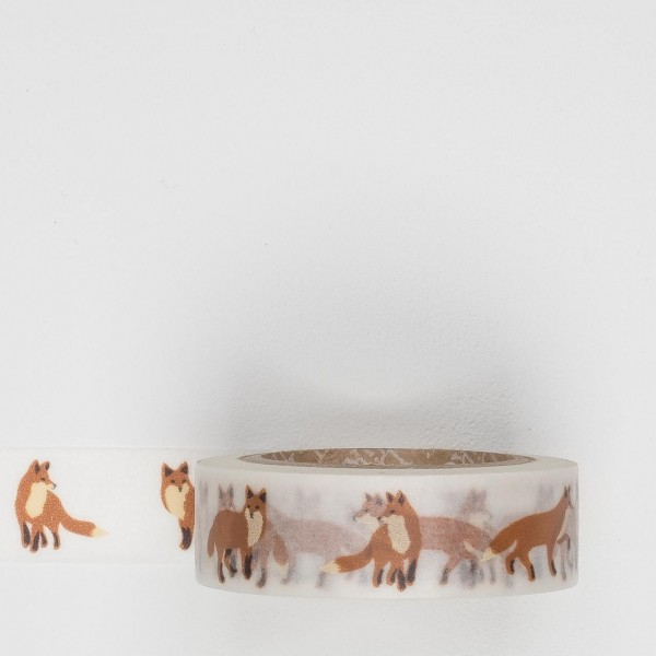 Dailylike Masking Tape 50 winter fox