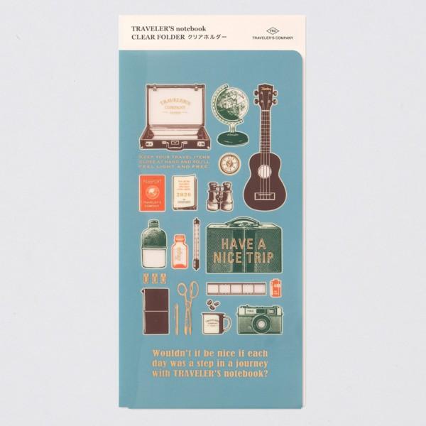 """Midori"" Traveler's Notebook Regular 2020 Dokumentenhülle"