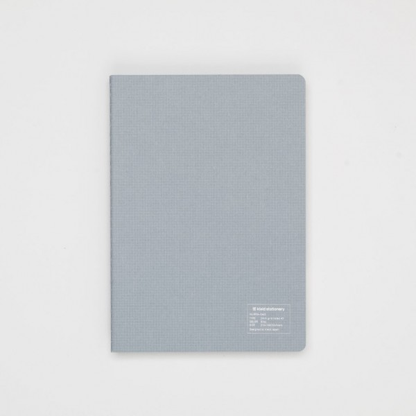 Kleid japanisches Notizbuch A5 grau