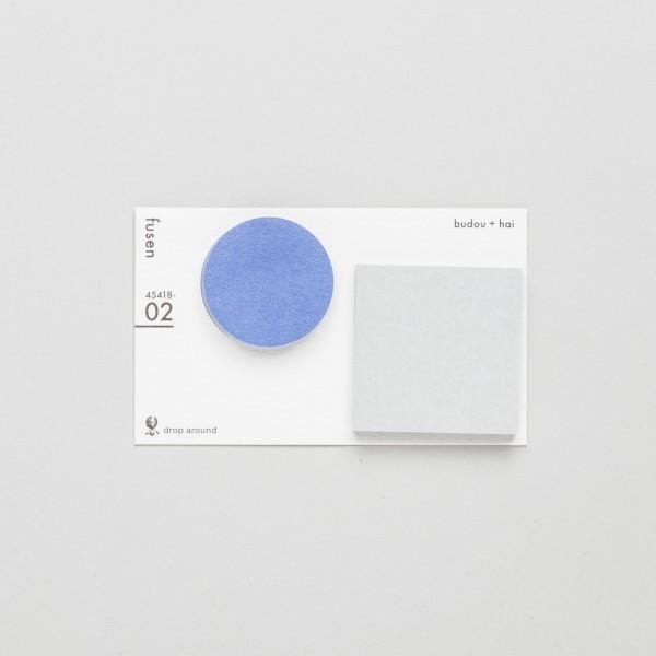 """Geometry Stickies """"budou + hai"""" 02"""