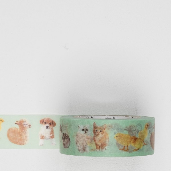 Masking Tape Baby Animals