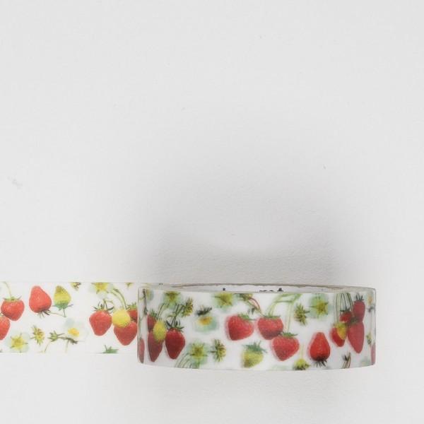 Masking Tape Erdbeeren