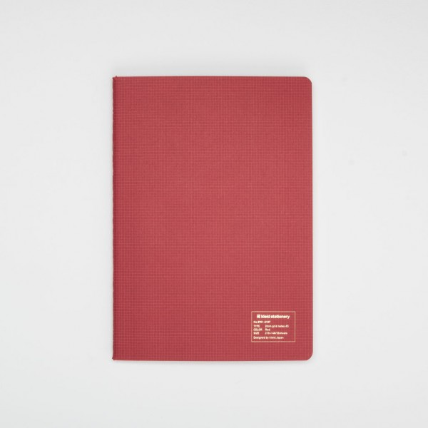 Kleid Japanese Notebook A5 red